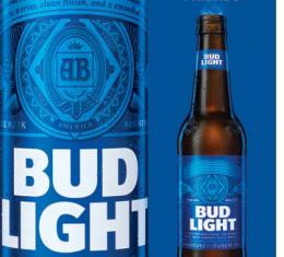 Tin Sign, Bud Light - Famous