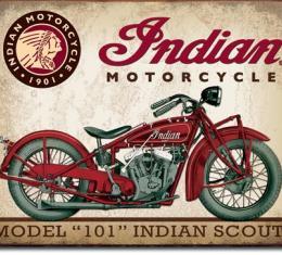 Tin Sign, Indian Scout