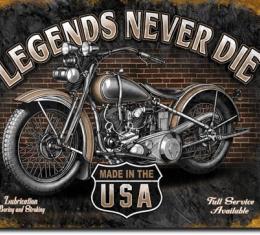 Tin Sign, Legends - Never Die