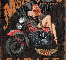 Tin Sign, Legends - Motorhead Garage