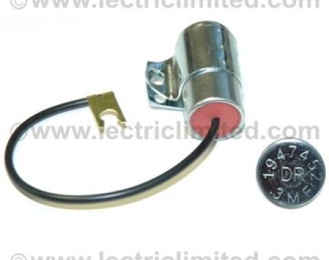 Corvette Coil Capacitor With Bracket, 1958-1962 & 1966-1971
