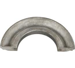 Rear Main Bearing Oil Seal - Upper - U Shaped Groove With Rear Double Slinger - Ford Flathead V8 Except 60 HP