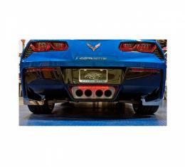 "American Car Craft Rear License Plate Frame With ""Corvette"" Lettering| 25-387125 Corvette Stingray 2014-2017"