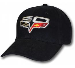 Corvette Cap,60th Anniversary Black