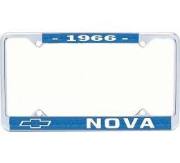 Nova License Frame, 1966