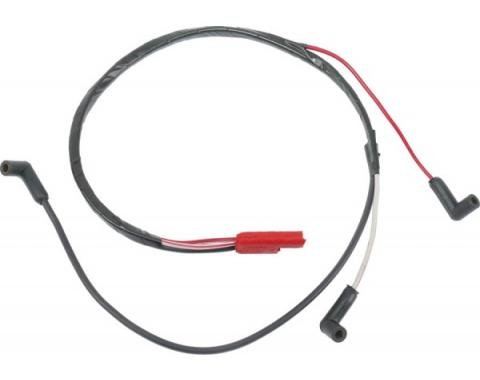 Ford Mustang Firewall To Engine Gauge Feed - 289 Or 302 V-8Without Tachometer