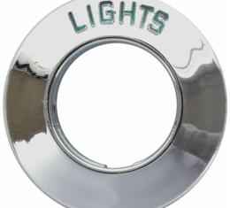 Dash Knob Bezel - Lights - Ford