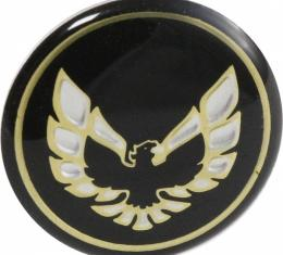 Firebird Shift Button Emblem For Cars With Automatic Transmission, Gold, 1976-1981