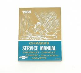 Chevy Chassis Service Manual, 1969