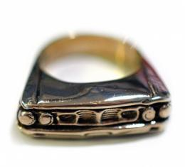1964 Ford Galaxie Sterling Silver Ring