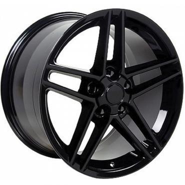 Corevtte 18 X 10.5 C6 Z06 Reproduction Wheel, Black, 1988-2004