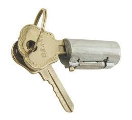 Trunk Handle Lock Cylinder & Keys - Ford