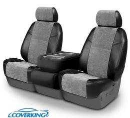 Corvette Coverking Alcantara Suede Seat Covers, Sport Seat With Seat-Mounted Upward-Facing Power Controls, 1984-1988