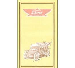 Ford The Universal Car 1912 Model T - 18 Pages - 59 Illustrations