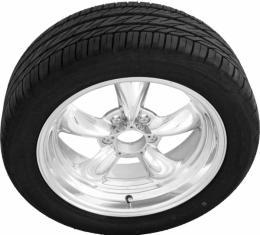"Torq Thrust II Polished 17"" Wheels & Nitto Motivo Tires, Mounted & Balanced Pkg"