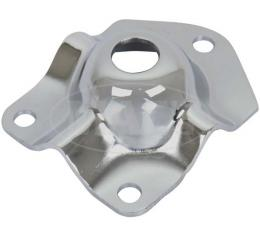 Mustang Shock Tower Cap, Chrome, Left Or Right, 1971-1973