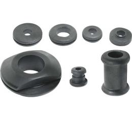 Model A Ford Firewall Grommet Set - 7 Pieces - Rubber- UsedLate 1931