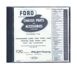 Ford Chassis Parts & Accessories Catalogue On CD - For Windows Operating Systems Only