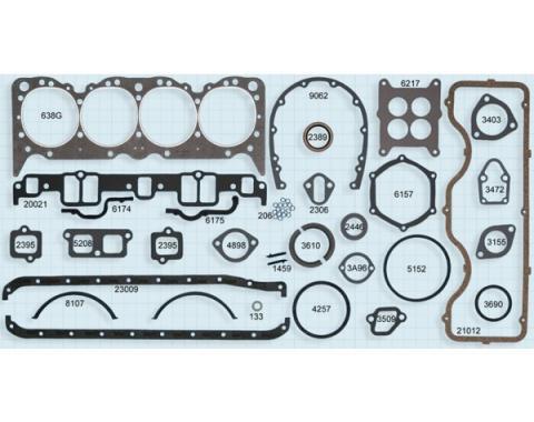Chevy Truck Engine Gasket Set, 409 V8, 1962-1965