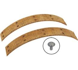 Brake Lining And Rivet Set - Woven - 8 Pieces & Rivets - Ford 1/2 Ton Pickup Truck