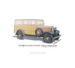 Print - 1932 Ford Station Wagon (B150) - 12 X 18 - Unframed
