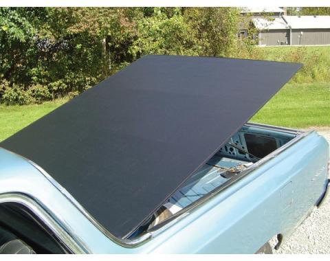 El Camino Tonneau Cover, Hatch Style, Black, 1964-1967