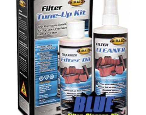 Corvette Air Filter Tune Up Kit, Airaid, Blue, 1985-2013