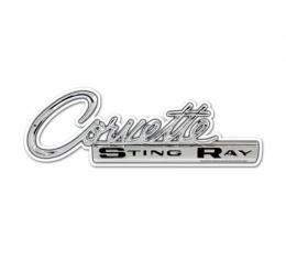 Corvette Stingray Vintage Metal Sign, 24x10
