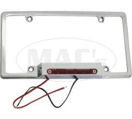 License Plate Frame With Third