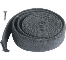Floorboard Seal Set - 1 Piece - 120 Woven Lacing & 1 Package Of Tacks - Ford