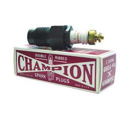Model T Spark Champion Spark Plug, Authentic Take-Apart Style, 1909-1927