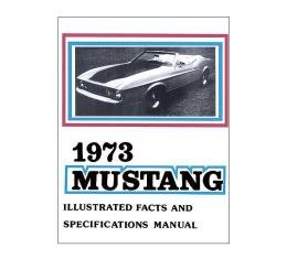 Mustang Illustrated Facts And Specifications Manual - 26 Pages