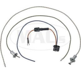 Ford Pickup Truck Turn Signal Flasher Wires - Braided - 29 Long - Without Flasher