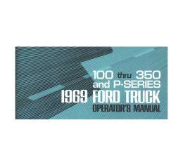 Ford Pickup Truck Operator's Manual - Illustrated - 68 Pages