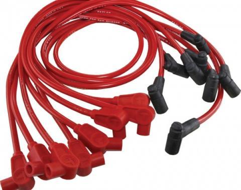 Corvette Spark Plug Wires, Red, Spiro-Pro, Taylor, 1985-1991