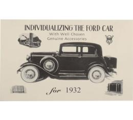 Accessory Brochure - Fold-Out Style - Ford Passenger & Pickup