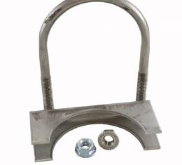 """Corvette Exhaust Clamp, Stainless Steel 3"""""""