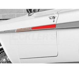 Chevy Impala Door Moldings, Complete,  1961