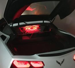 Corvette Coupe WINDRESTRICTOR®, Glow Plate, 2014-2017