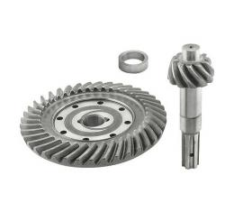 Ring & Pinion Gear Set - 3.54 To 1 Ratio - 10 Splined - Ford Pickup Truck