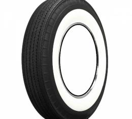 """Chevy Tire, Original Appearance, Radial Construction, 7.60 x 15"""" With 3-1/4"""" Whitewall, 1955-1956"""