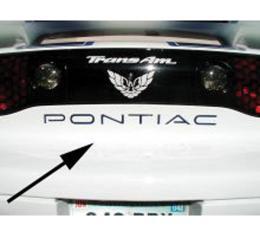 Firebird, Trans AM Decal, Rear Pontiac Letters 1993-2002