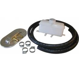 Early Chevy Master Cylinder Conversion Remote Fill Kit, 1949-1954