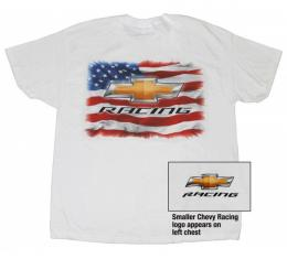 Chevy T-Shirt, American Chevrolet Racing, White