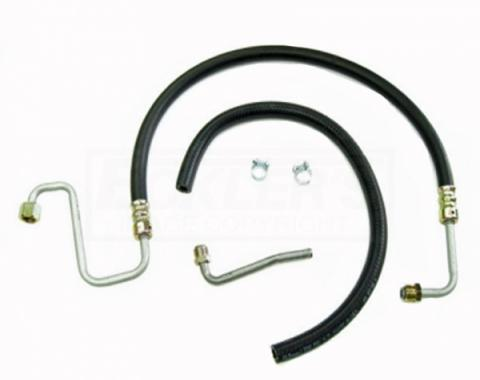 Camaro Power Steering Hose, Kit, All V8, 1969
