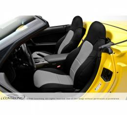 Corvette Coverking Neosupreme Seat Cover, Without Power Passenger Seat, 1997-2004 Sport Coupe & Hardtop