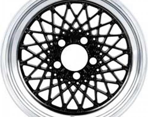 """Firebird GTA Wheel, 16"""" x 8"""", Black, 1987-1992"""