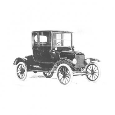 Door Window Glass,  Closed Car and TT Truck, 1917-1927