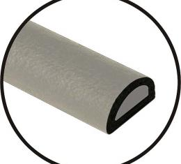 Universal Door Seal - Hollow Core - 3/8 X 7/32 X 20' Roll -Peel & Stick Adhesive Backing - Ford & Mercury