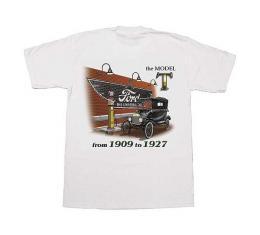 MAC Wear T-shirt - 1909-1927 Model T - Choose Your Size